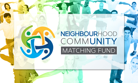 Graphic image for Neighbourhood Community Matching Fund