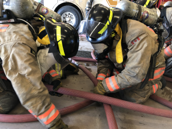 Week 5, Recruit Training, Firefighter Survival