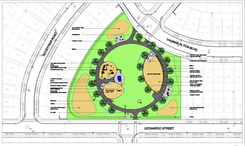 alton park rendering plan