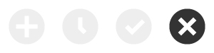 Development Status Refused Icon