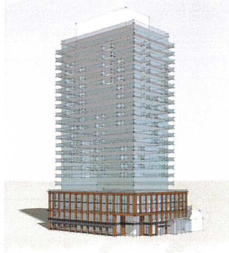 409 Brant Street Development Rendering